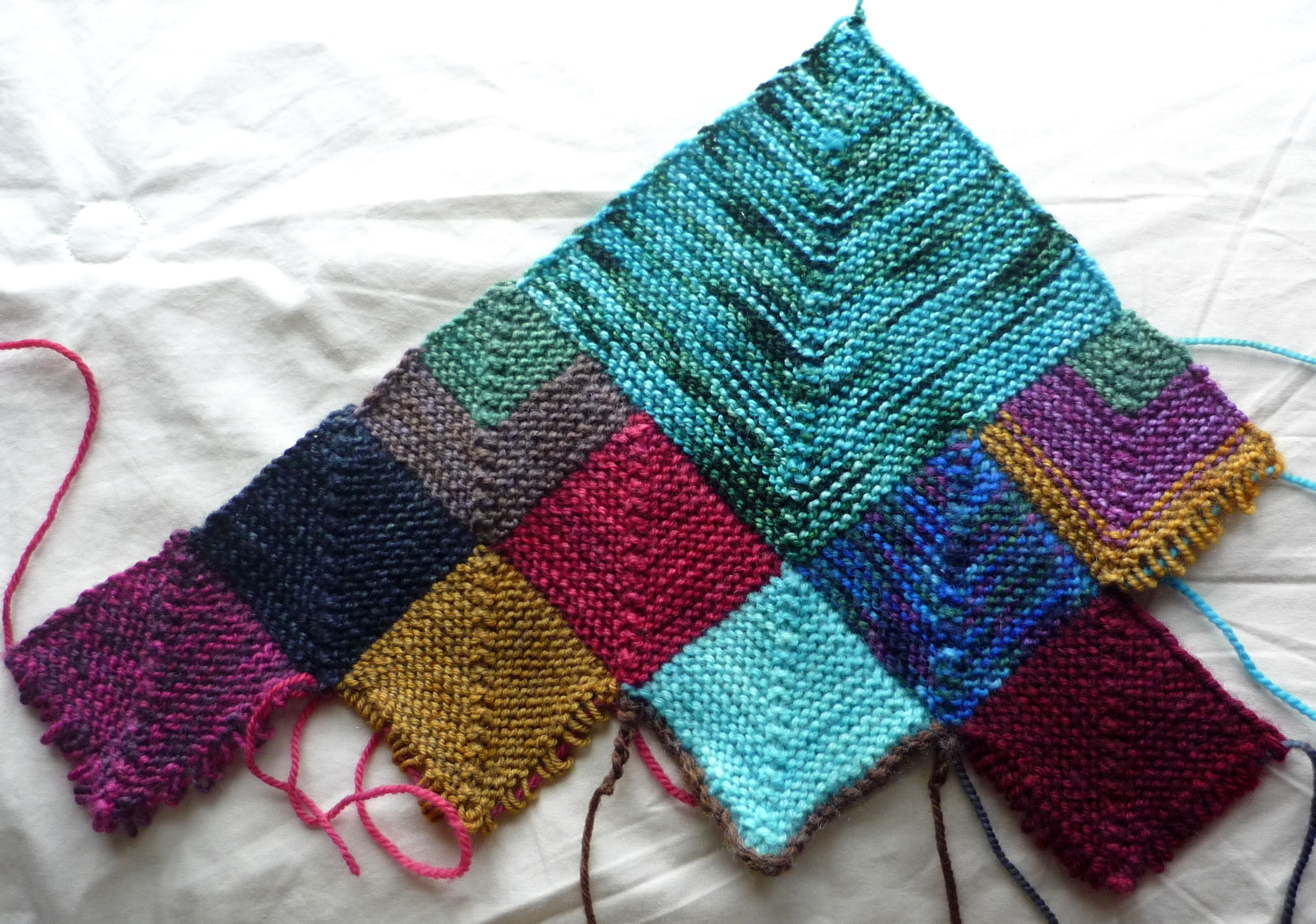Insanity Blanket Knitting Pattern : Blanket of Insanity   Wandering Wool