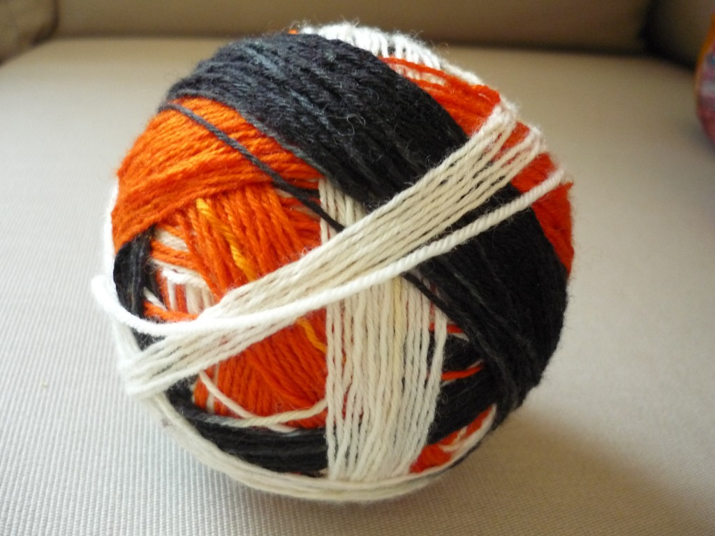 Self Striping Sock Yarn