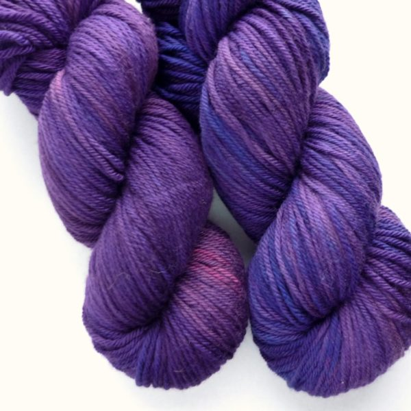 Heights Worsted - Deep Amethyst