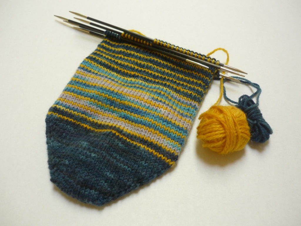 Scrap Yarn Socks